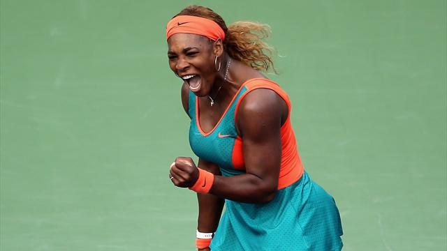 WTA Miami - Serena cruises to record Miami title glory