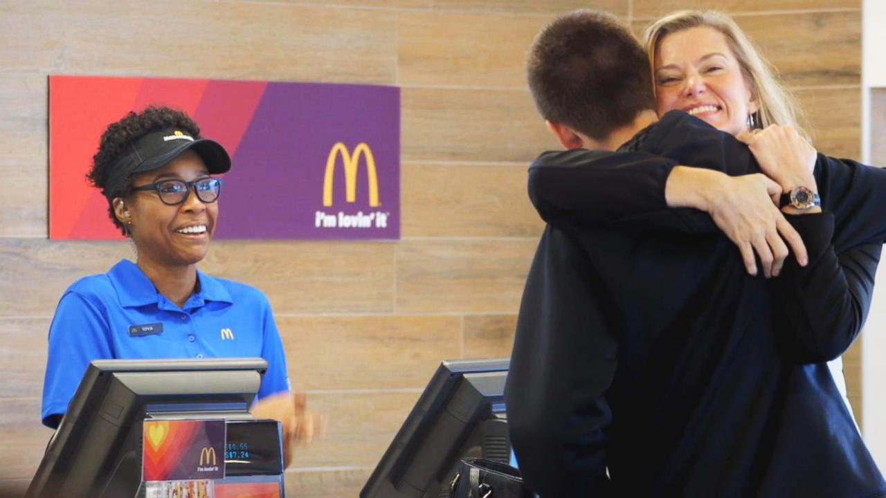 Super Bowl Commercials: McDonald's Lets You Pay for Food With Lovin'