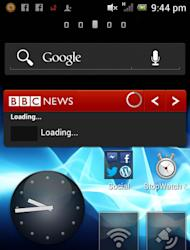 Don't go overboard with your widgets...