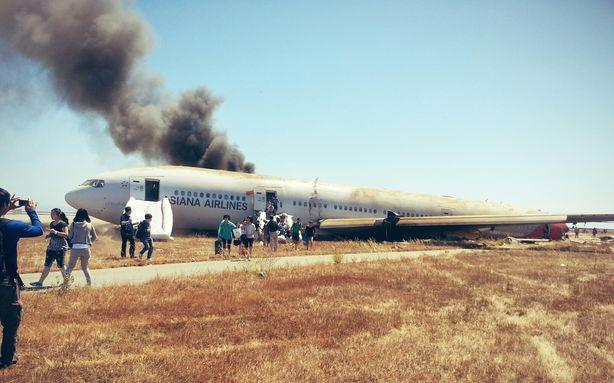 A Boeing 777 Crash Landed in San Francisco