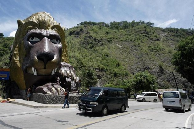 Lion's Head, Kennon Road, Baguio City. (Voltaire Domingo/NPPA Images)