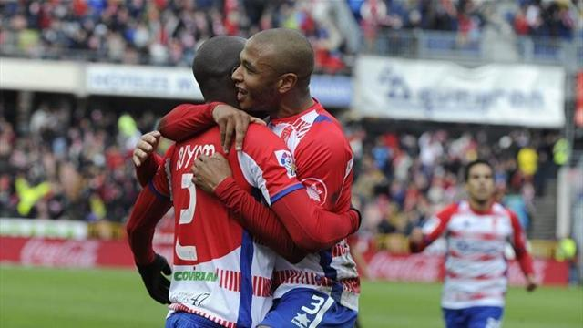 Liga - Rayo's run halted by Granada