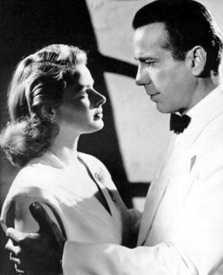 Ingrid Bergman and Humphrey Bogart in Warner Bros. Pictures' Casablanca