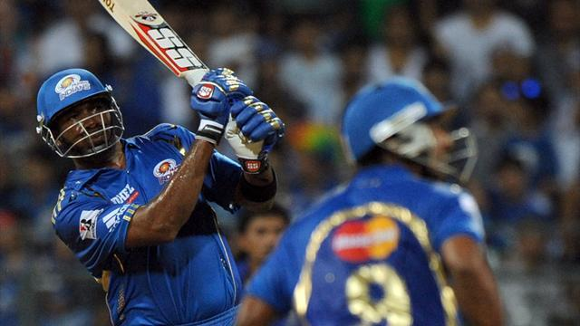 Cricket - Pollard magic sees Mumbai go top of IPL standings