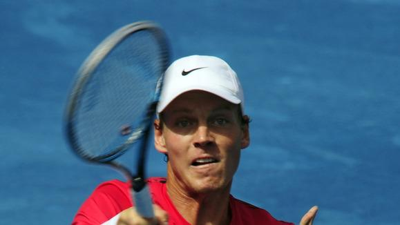 Czech Tomas Berdych Returns AFP/Getty Images