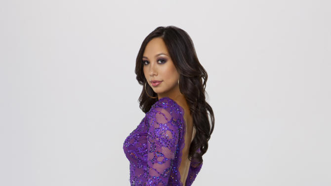 """Cheryl Burke competes on Season 14 of """"Dancing With the Stars."""""""