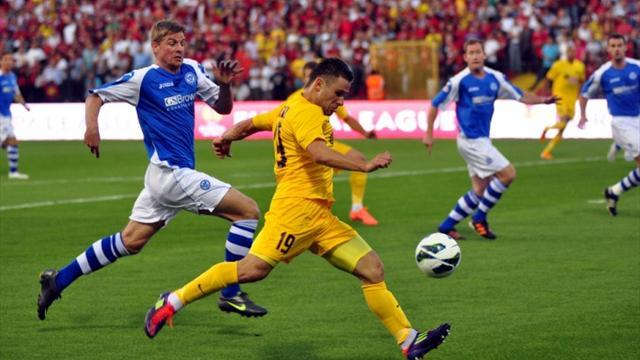 Europa League - St Johnstone exit Europe