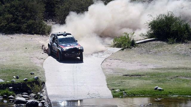 Dakar - Cars: Terranova posts maiden stage win