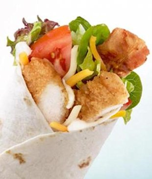 Do McDonald's new McWrap sandwiches have a place in a healthy diet?