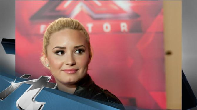 """Twitter News Pop: Demi Lovato Puts Father to Rest: """"Hardest Thing I've Ever Done"""""""