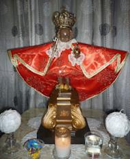The miraculous image of Nuestra Senior Sto. Niño de Romblon that was, stolen from the St. Joseph Cathedral in Romblon 1991, is recovered in Aklan. (Photo from the Sto. Nino de Romblon Facebook page)