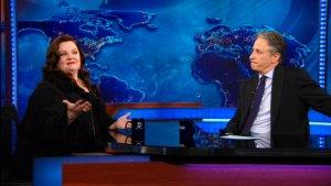 Melissa McCarthy Tells Jon Stewart About Her New Film and Failed Stand-Up Career (Video)