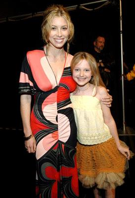 Jessica Biel and Dakota Fanning MTV Movie Awards 2005 - Backstage Los Angeles, CA - 6/4/05