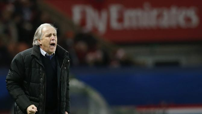 Lille's coach Rene Girard reacts during French Ligue 1 soccer match against Paris St Germain in Paris