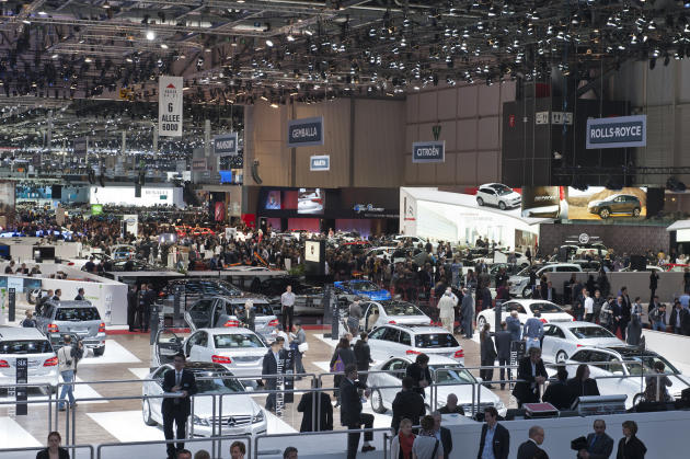 Crowd puller: Over 700,000 people visited the Geneva Motor Show last year