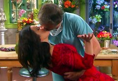 Fran Drescher and Harry Van Gorkum  | Photo Credits: TV Land