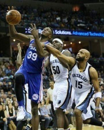 NBA: Philadelphia 76ers at Memphis Grizzlies