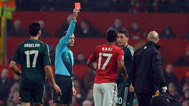 Champions League - Nani red card ref: 'I do my job perfectly'