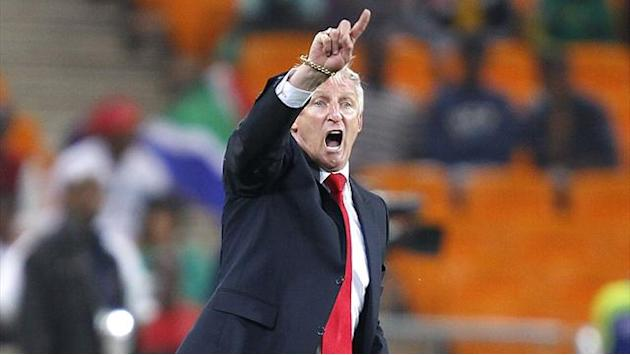 African Cup of Nations - South Africa coach says players froze