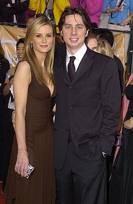 Bonnie Somerville and Zach Braff Screen Actors Guild Awards 2/22/2004