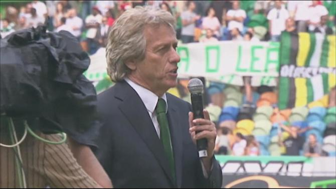 Football - Jorge Jesus officially unveiled by Sporting Lisbon
