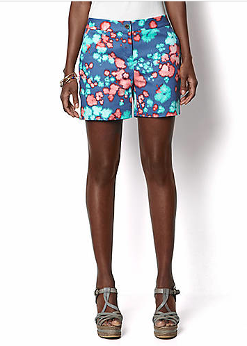 NAUTICA Printed Watercolor Shorts, $41.65