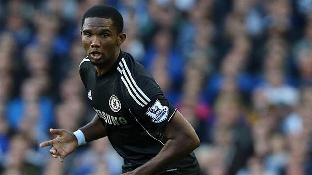 Football - Mikel backs Eto'o to find form