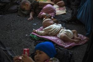 Children of suspected Uighurs from China's region …
