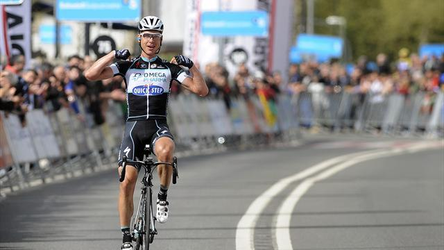 Cycling - Martin powers to solo victory