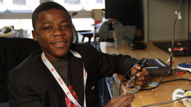 Teen Inventor Catches Eye of MIT, Harvard