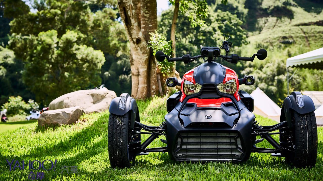 【新車圖輯】前進追風新領域!BRP Can-Am全新入門級三輪摩托車Ryker正式上市!