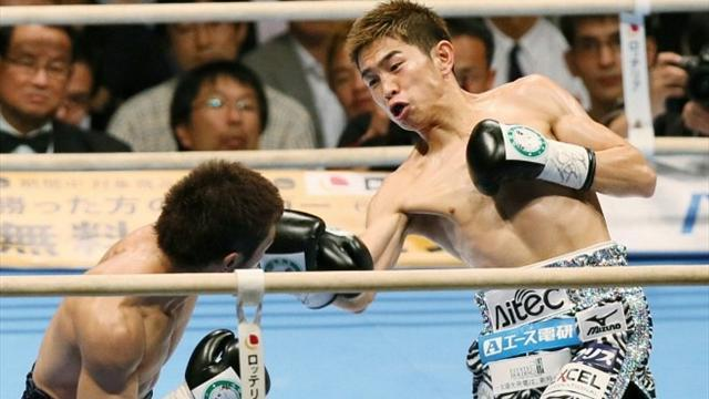 Ioka unifies minimum-weight titles