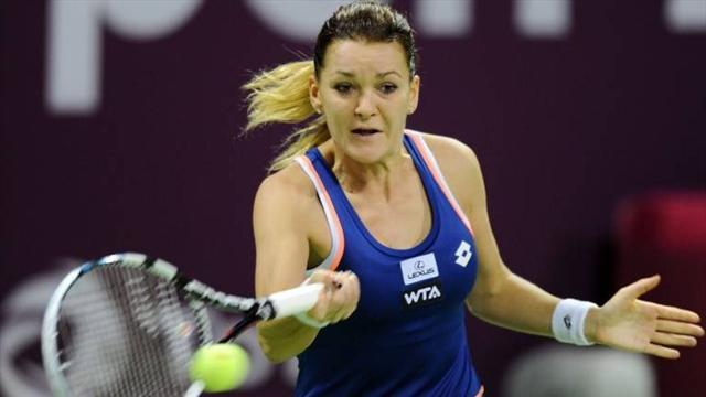 Tennis - Radwanska continues pursuit of Katowice title