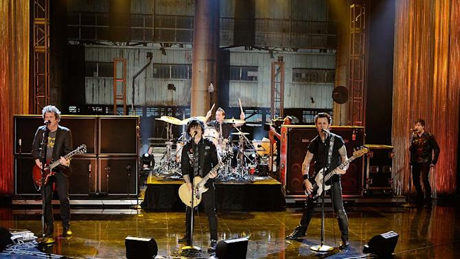 Green Day Tonight Show
