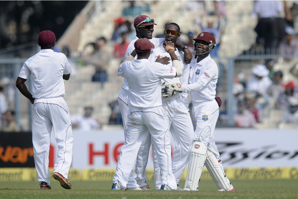 India v West Indies 1st Test D2