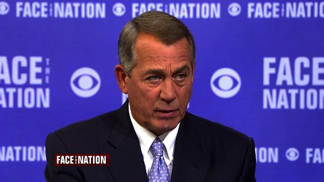 """John Boehner: """"Somebody's boots have to be on the ground"""" against ISIS"""