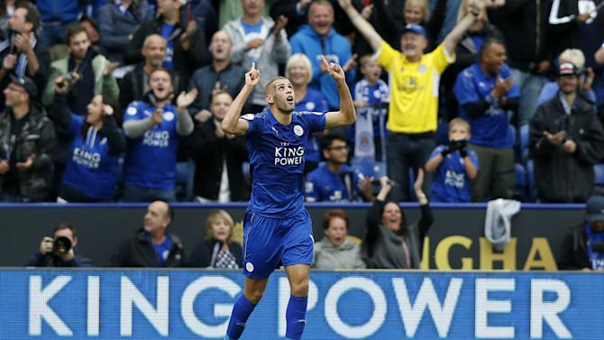 Leicester count on Slimani to shine against Porto