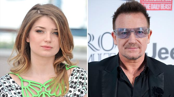 Eve Hewson and Bono