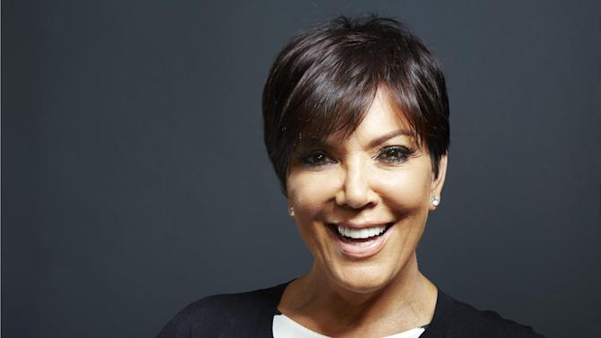 """In this Monday July 8, 2013 photo, TV personality Kris Jenner poses for a portrait in New York. Jenner's new talk show """"Kris,"""" will air for six weeks starting July 15 on selected Fox-owned stations. (Photo by Dan Hallman/Invision/AP)"""