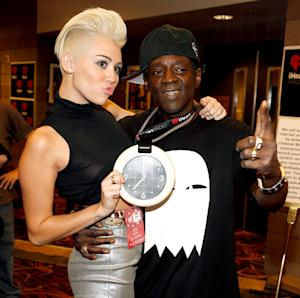 Awkward! Flava Flav Mistakes Miley Cyrus for Gwen Stefani