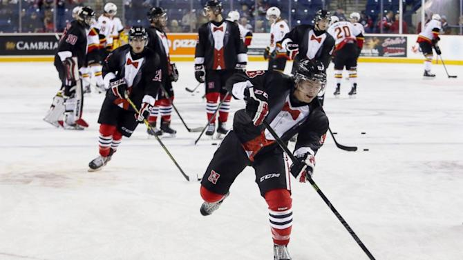Hockey Team Classes Up Opening Game With Black-Tie Uniforms