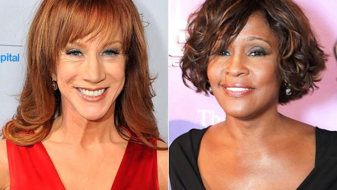 Kathy Griffin Once Thought Whitney Houston Was Going to Hit Her