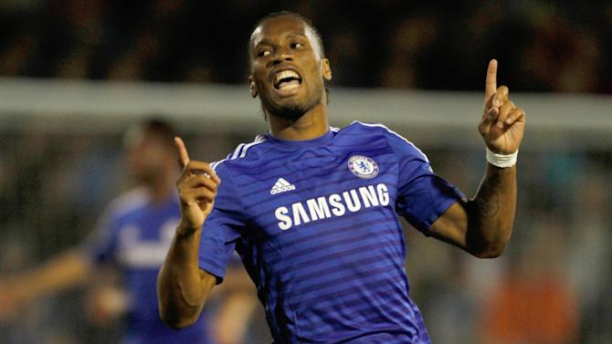 Champions League - Drogba left out of Chelsea squad, Hazard fires warning to rivals
