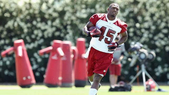 NFL  - Cardinals running back James banned for doping