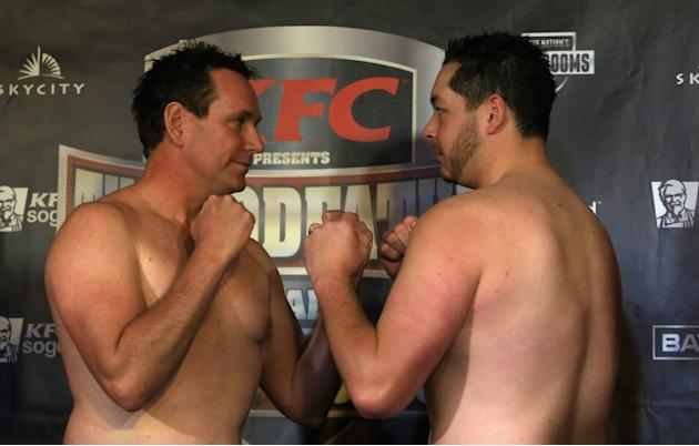 Shane Cameron v Monte Barrett Weigh In