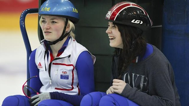 Great Britain's Kathryn Thomson (left) and Mari Deland (PA Photos)