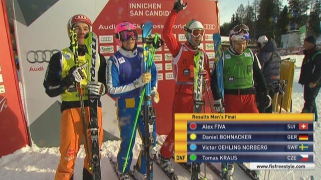 Freestyle Skiing - Serwa, Fiva win in Innichen-San Candido