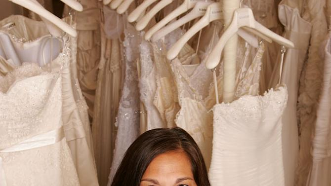 """Debbie, a bridal consultant at Kleinfeld Bridal, on """"Say Yes to the Dress."""""""