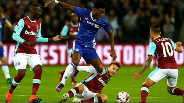 Batshuayi fails in cup audition for Diego Costa's place in loss to West Ham