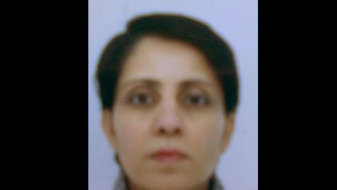 This undated hand out photo provided by the Metropolitan Police shows  Jacintha Saldanha. British police say that a nurse who was found dead days after she took a hoax call about the pregnant Duchess of Cambridge was originally from India. Scotland Yard said Saturday that 46-year-old Jacintha Saldanha, who was found dead on Friday, Dec. 7, 2012 had lived in Bristol in southwestern England for nine years. Saldanha worked at the London hospital where Prince William's wife, Kate, was being treated for acute morning sickness. The nurse was duped by a prank call performed by two Australian DJs, who pretended to be Queen Elizabeth II and Prince Charles to ask about Kate's condition. (AP Photo/Metropolitan Police